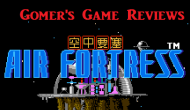 Gomer Reviews – Air Fortress (NES)