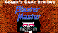 Gomer Reviews Blaster Master(NES)