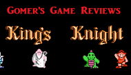 Gomer Reviews – King's Knight (NES)