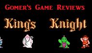 Gomer Reviews – King's Knight(NES)