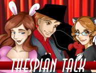 Thespian Talk – Episode 97 (Ironic Gaming Pasty)