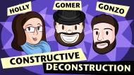 Constructive Deconstruction – Episode 29 (Crowdsourcing and Self Promotion)