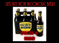 Let's Try Non Alcoholic Beer:Kaliber