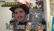 The Literary Lair: Young Zaphod Plays It Safe