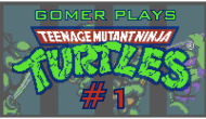 Gomer Plays TMNT NES (Part 1: Oh Dam)