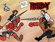 The Cartoon Physicist's Noughtie List – Hellboy (With Toby Mobias)
