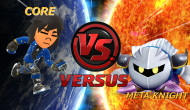 Meta Knight versus Core | Super Smash Blast