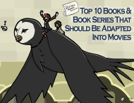 The Cartoon Physicist's Noughtie List – Top 10 Books & Book Series That Should Be Adapted IntoMovies