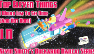The Cartoon Physicist's Noughtie List – Top 11 Things I Would Like To See Be Done (And Not Done) in Kevin Smith's Buckaroo Banzai Series