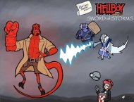 The Cartoon Physicist's Noughtie List – Hellboy: Sword of Storms
