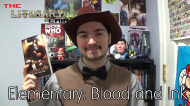 The Literary Lair: Elementary- Blood and Ink