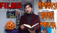 BlackScarabFilmZ Presents: Spooky Book Trivia