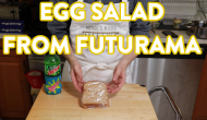 Binging with BlackScarabFilmZ: 'Fresh' Egg Salad Sandwich from Futurama